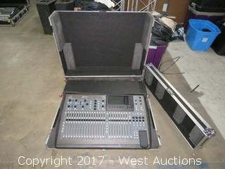Behringer X32 Digital Mixing Console with Portable Road Case
