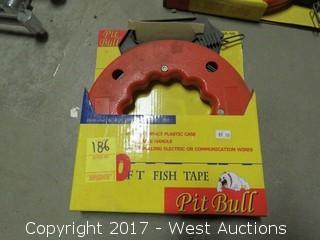 Pit Bull 50' Fish Tape