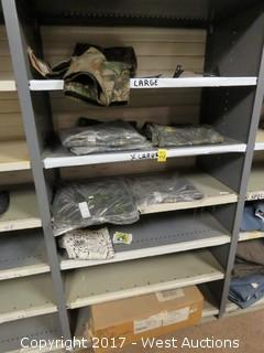Contents of Shelves: Various Camo Pants