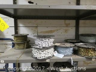 Bulk Lot: (6) Spools of Various Chains