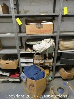 Bulk Lot: Various Lg. Staples, Various Lg. Can Lids, Plus