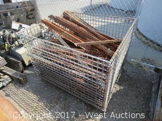 Steel Crate of Various Steel Plating
