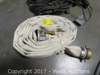 "2"" Rubber Lined Cotton Jacketed Hose"
