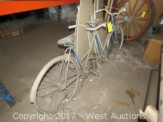 (1) Tandem Bike