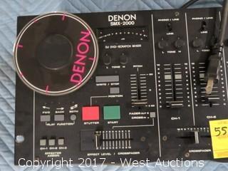 Denon SMX-2000 DJ Sigi-Scratch Mixer