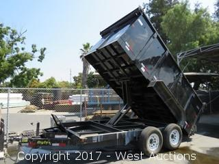 2016 Big Tex 14' Dump Trailer