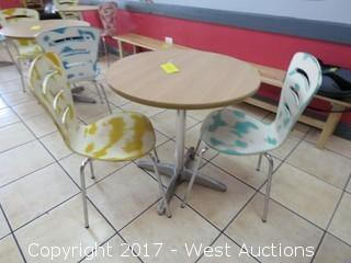 """30"""" Table with (2) Chairs"""