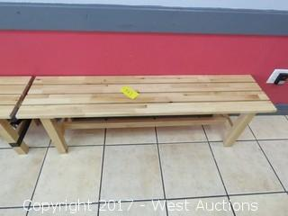 Wood Bench 5'