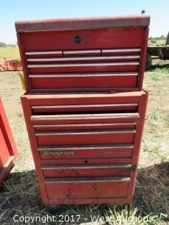 Snapon Rolling Toolbox with Misc Tools