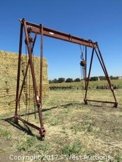 Magic-Pole 16'W x 13' H Portable Shop Crane