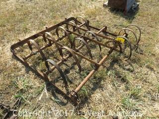 6' Drag Spring Field Harrow