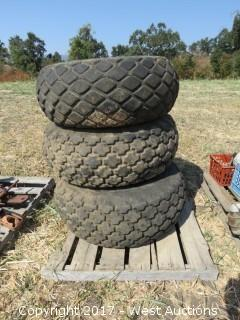 (3) New Holland 13.6-16 Tires and Rims