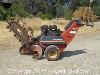 Ditch Witch 1010 Walk Behind Trencher