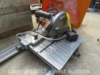 Ridged Wet Tile Saw