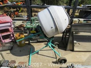 (1) Imer Betonier Minuteman Cement Mixer