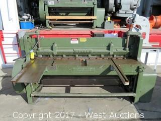 Wysong & Miles Industrial Sheer 6' Cutter Mechanical