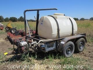 1997 A-Z Mfg 525 Gallon Spray Trailer