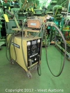 Hobart 200 Amp Welding Power Source and Hobart Model 5348A WireFeed and Mig Welder