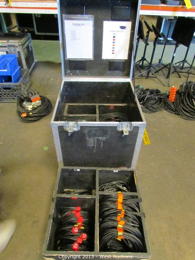 West Auctions Auction Audio Visual Lighting Road