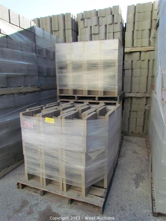 West Auctions - Auction: Stone Pavers, Concrete Blocks, and