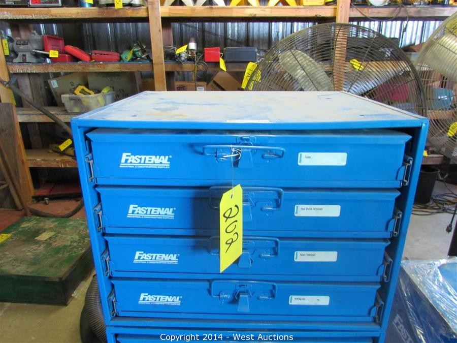 West Auctions Auction Nissan Forklift Equipment And Tools From