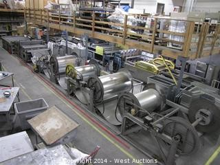 Entire Iowa Precision Coil Duct Assembly Line