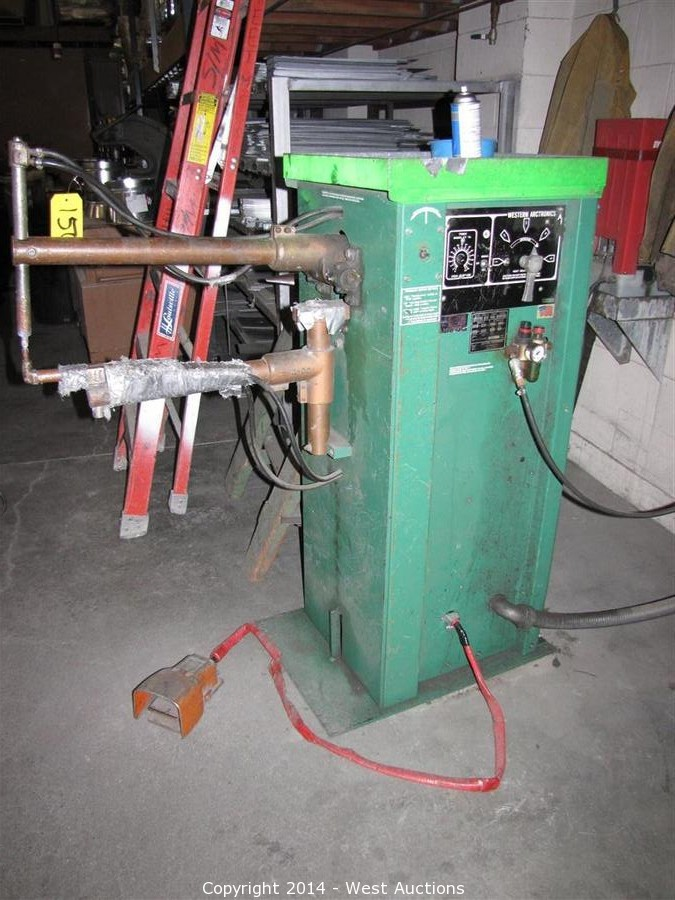 west auctions auction heavy equipment and machinery from san rh westauction com western arctronics spot welder parts Western Arctronics Spot Welder Parts