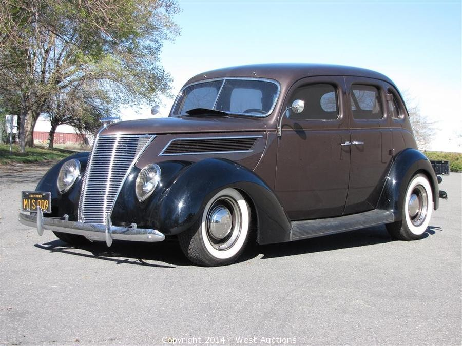 West auctions auction bankruptcy auction 1937 ford for 1937 ford four door sedan