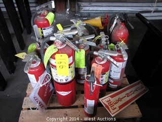 (13) Fire Extinguishers