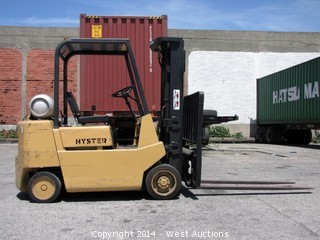 Hyster 550XL 5250lb Capacity Propane Forklift