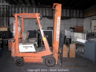 Toyota 3FGC15 2600lbs Capacity Propane Forklift