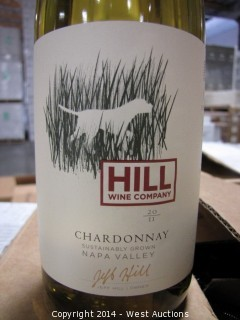 (56) Cases of 2011 Hill Napa Valley Black Dog Chardonnay (Sku: 855147003434)