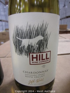 (56) Cases of 2012 Hill Napa Valley Black Dog Chardonnay (Sku: 855147003755)