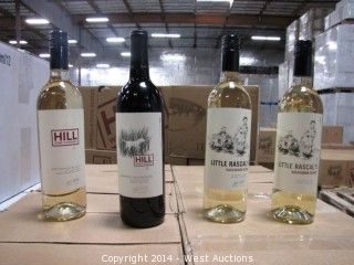 (94) Cases of Assorted Hill Napa Valley Wine