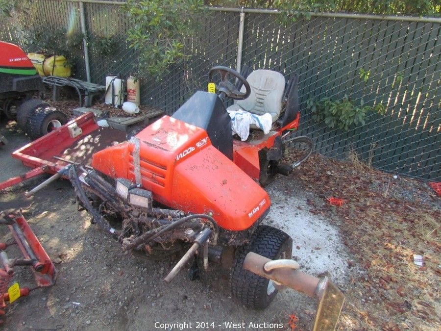 West Auctions - Auction: Golf Course Landscape Equipment ITEM
