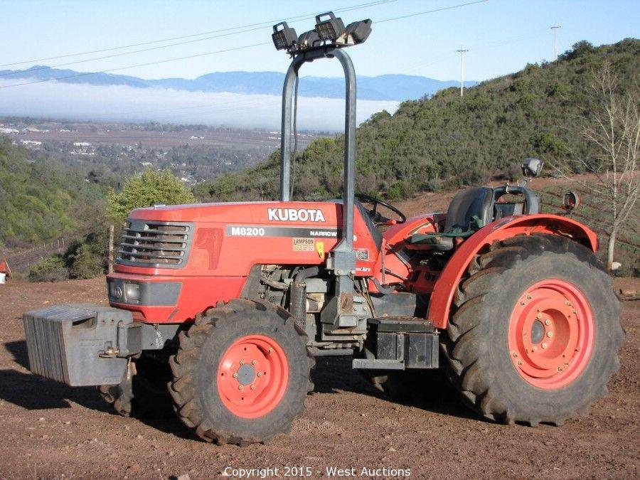 West Auctions Auction Tractors Trucks And Vineyard Equipment
