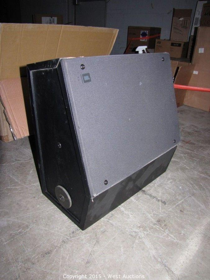 West Auctions Auction Movie Theater Electronics And Commercial Refreshment Equipment Item Jbl 8330 Cinema Surround Speaker