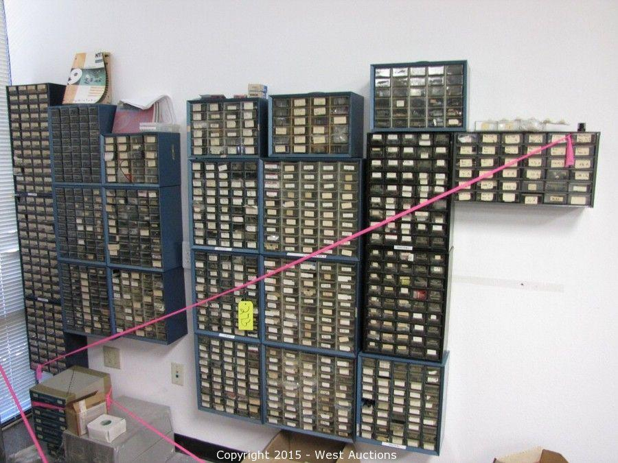 West Auctions - Auction: Complete Sellout of Electronic Parts Store