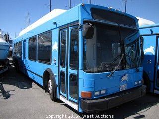2002 NABI 27 Passenger CNG Luxury Bus