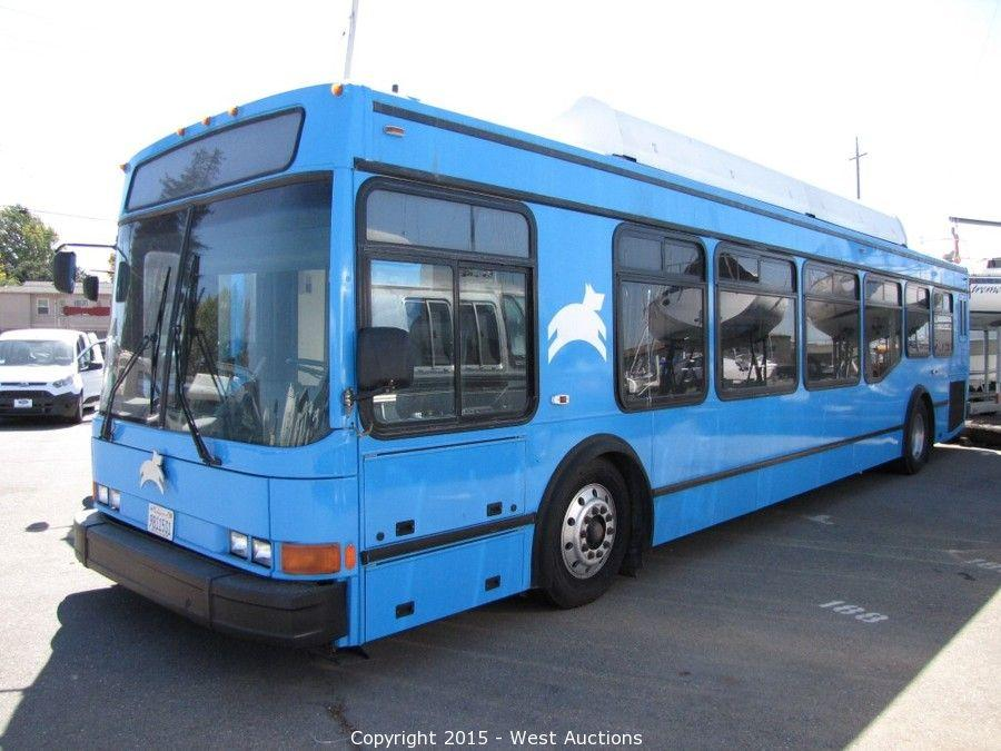 Bankruptcy Auction of Leap Transit, Inc with (2) NABI 27 Passenger CNG Luxury Buses