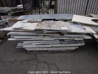 West Auctions - Surplus Auction of Granite Slabs, Marble Slabs and Tile