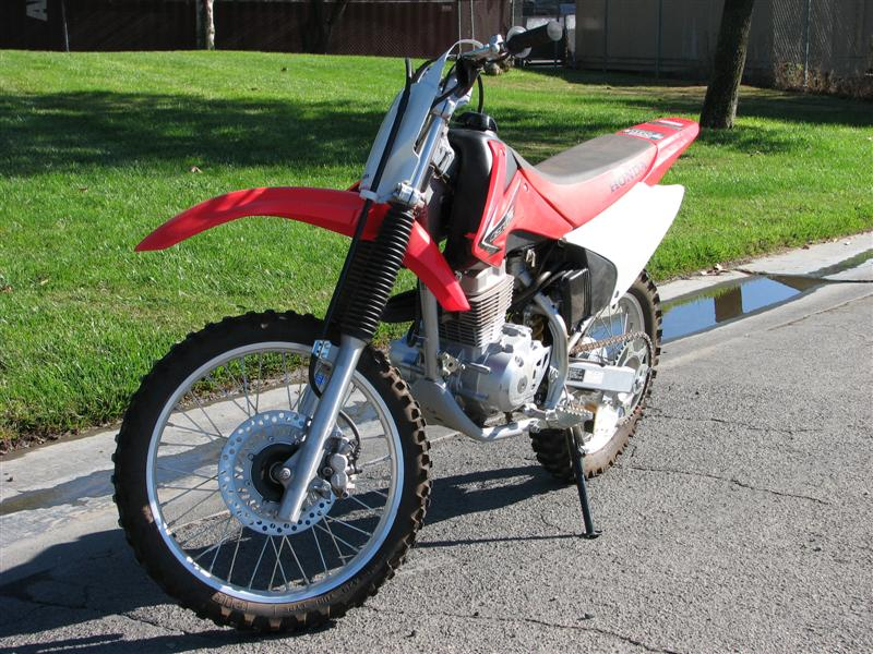 Cool West Auctions Auction 2008 Honda Crf150F Dirtbike Item Unemploymentrelief Wooden Chair Designs For Living Room Unemploymentrelieforg