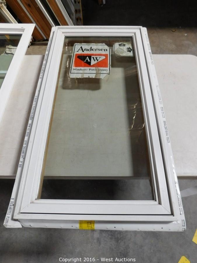 West Auctions - Auction: Surplus Auction #1: Insulation and Andersen ...