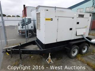 Trailer Mounted MultiQuip WhisperWatt DCA-125USJ Generator