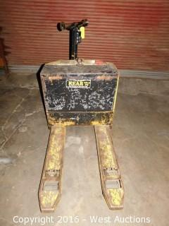 Yale Electric Pallet Jack with Battery Charger
