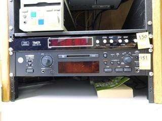 Tascam MD-350 Mini-Disc Player