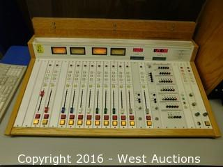 Audioarts R-60 Broadcast Console with Power Supply