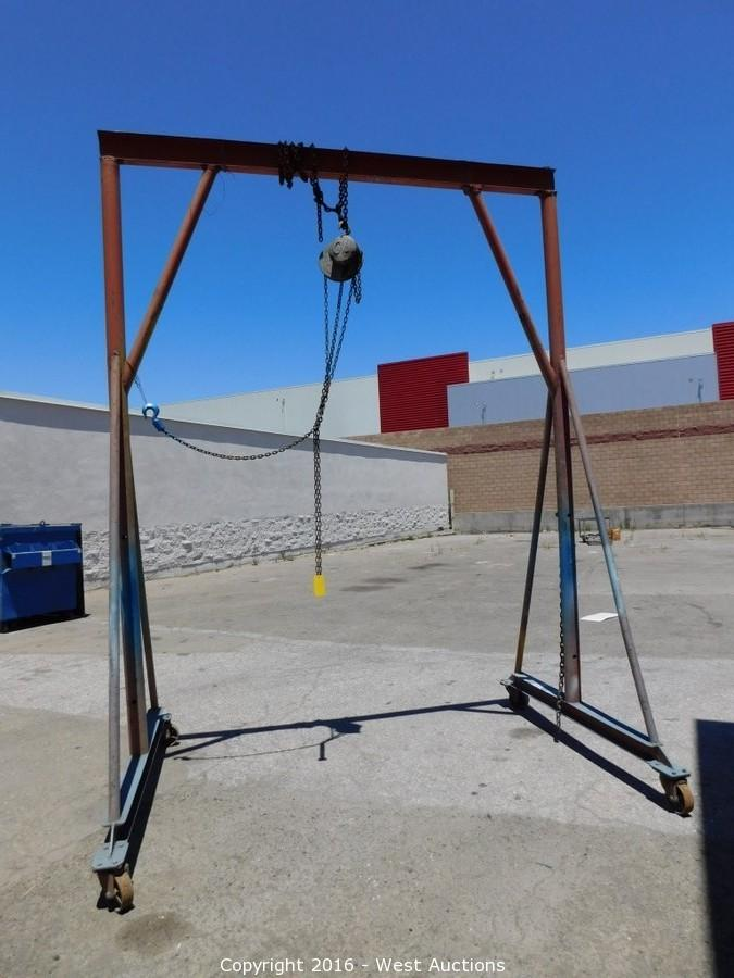 Bay Area Auto Auctions >> West Auctions - Auction: Bankruptcy Auction of Bay Area Auto Body Shop ITEM: Rolling Metal Frame ...