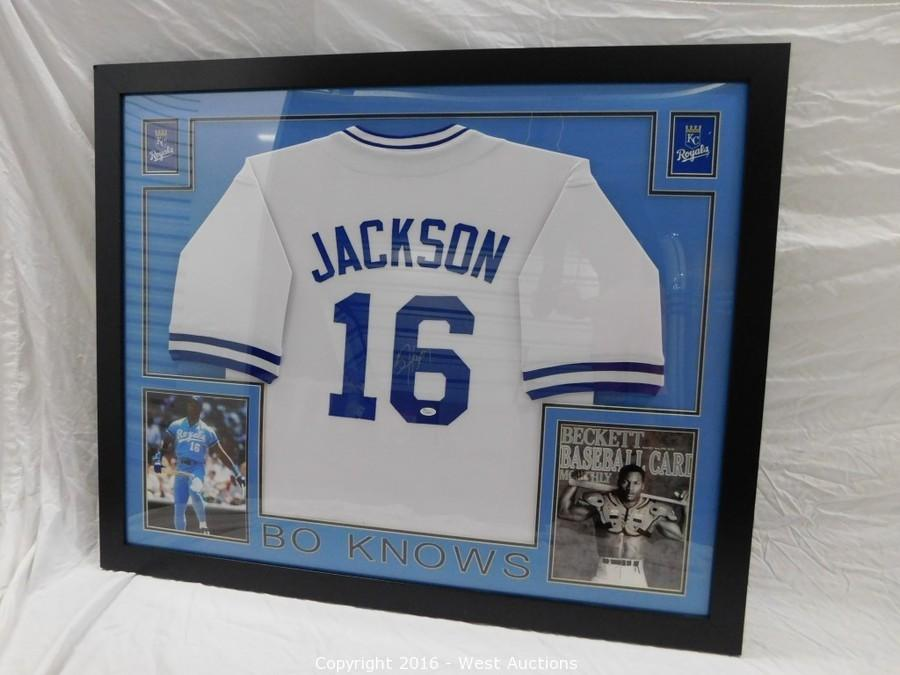 low priced 451a0 be53e bo jackson signed jersey