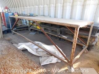 12'x4' Steel Table